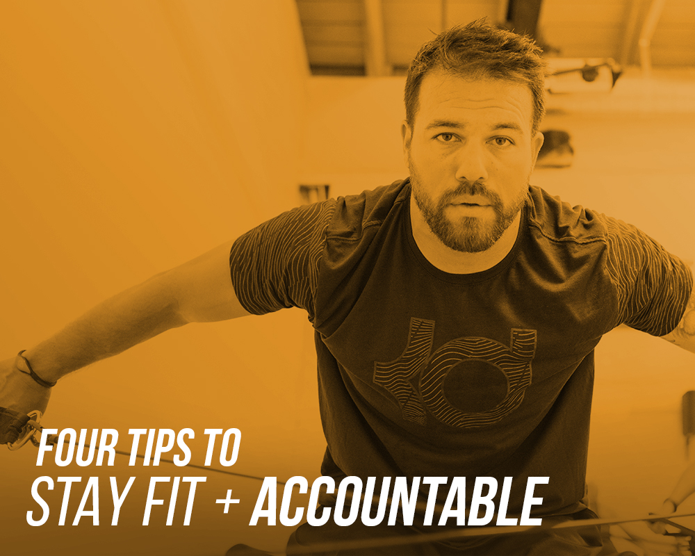 4 tips to stay fit